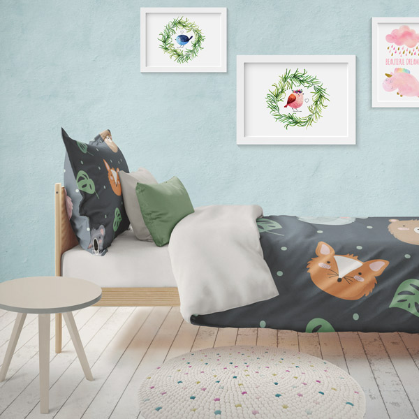Fabric for children bedding - digital printing