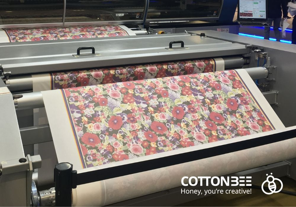 digitale Druck auf Textilien