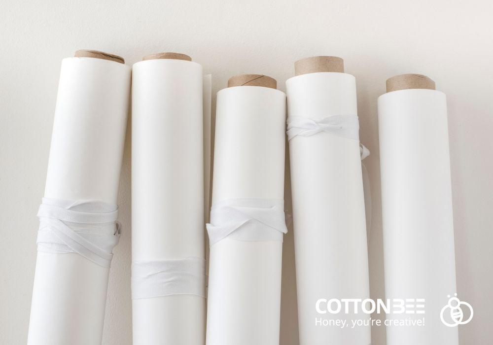 Wir bedrucken Baumwollstoffe höchster Qualität-Gewebe und Strickwaren.