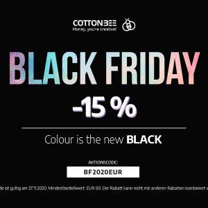 Black Friday 2020 – Drucke 15% günstiger
