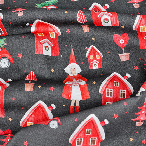 Christmas pattern fabric