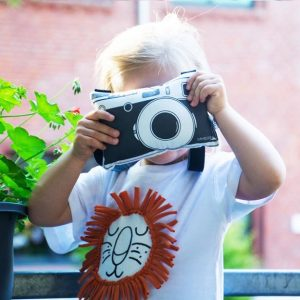Fabric camera for kids by Pambuka