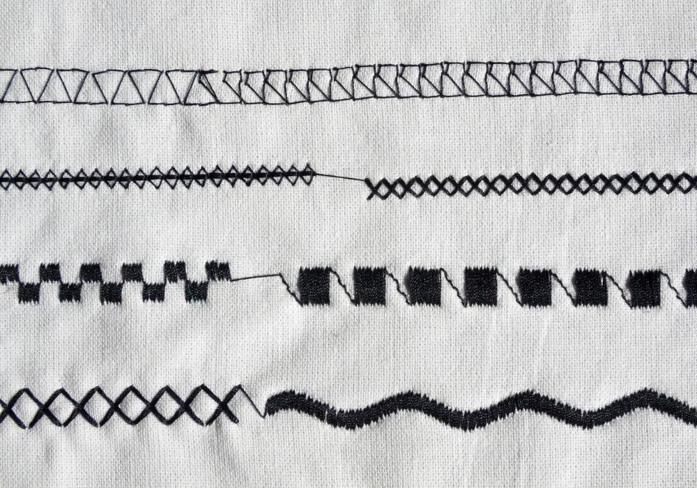 machine stitches - learning to sew on the machine