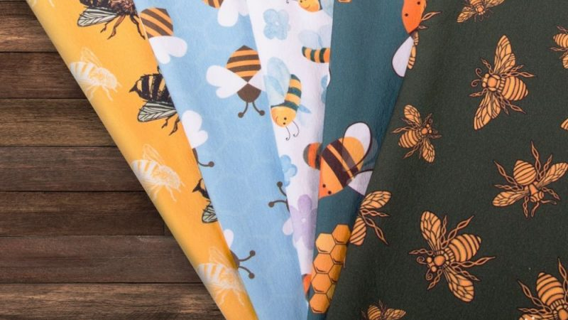 Bee fabrics – the honey collection