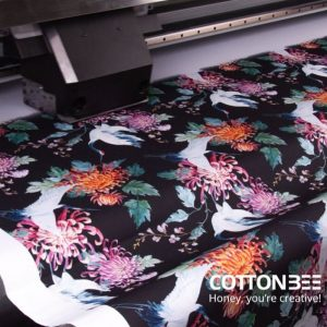 process of pattern printing on fabric
