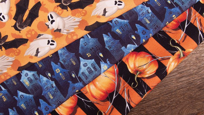 Halloween patterns – that is, how to be glamorous