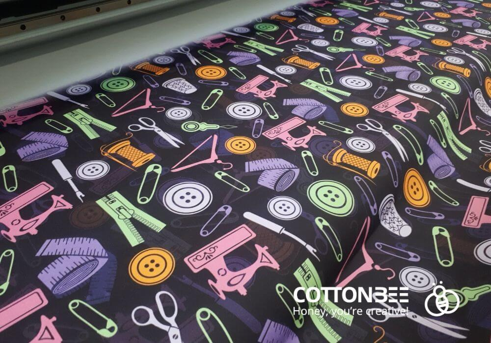 fabric printed by CottonBee