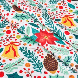 Christmas fabric pattern collection – print your own Christmas fabric!