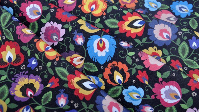 Folk fabrics – a plethora of colourful patterns