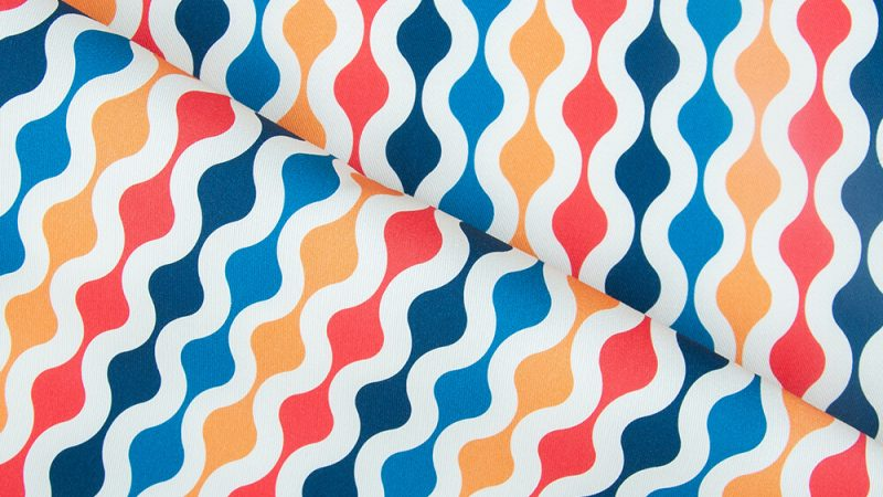 Collection of '60s fabrics – retro style with a modern twist