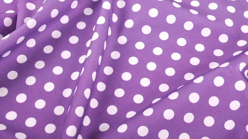 A collection of polka dot fabrics – the design adored by everyone