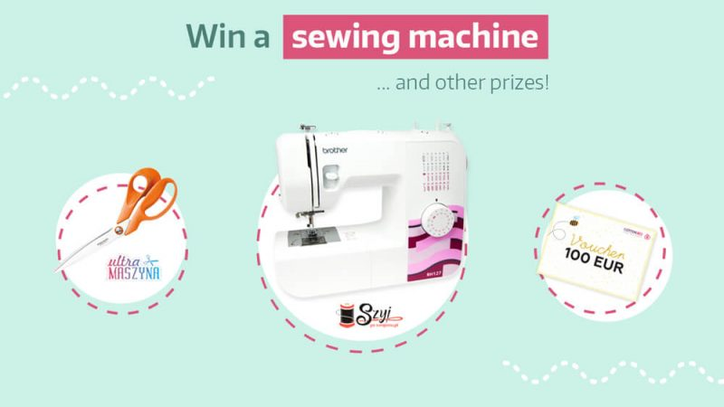 [CLOSED]Win a sewing machine and other prizes!
