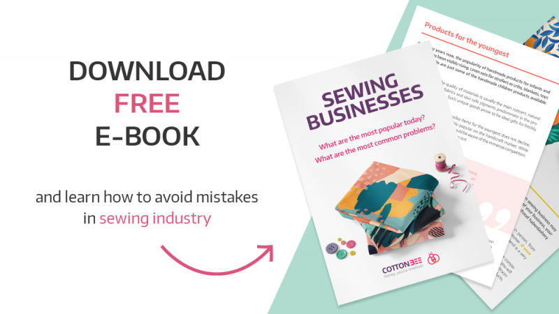 Want to start your sewing business? Download our free ebook with tips!