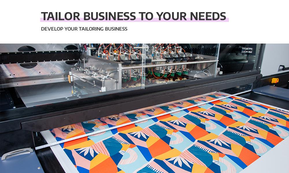 Fabric printing on demand