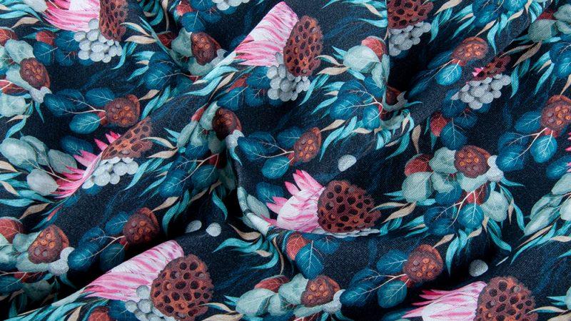 What to make using botanical print fabrics?