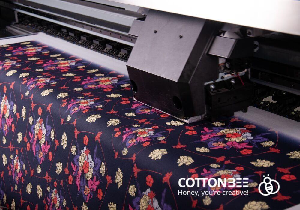 drukowanie na tkaninach i dzianinach