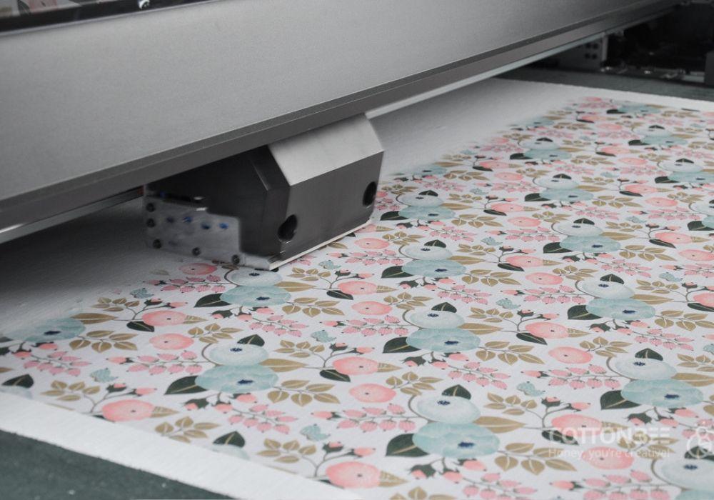 cyfrowe drukowanie na tkaninie