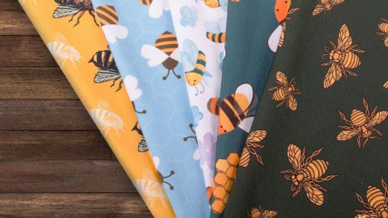 Materiały do szycia w pszczoły – miodowa kolekcja tkanin i dzianin