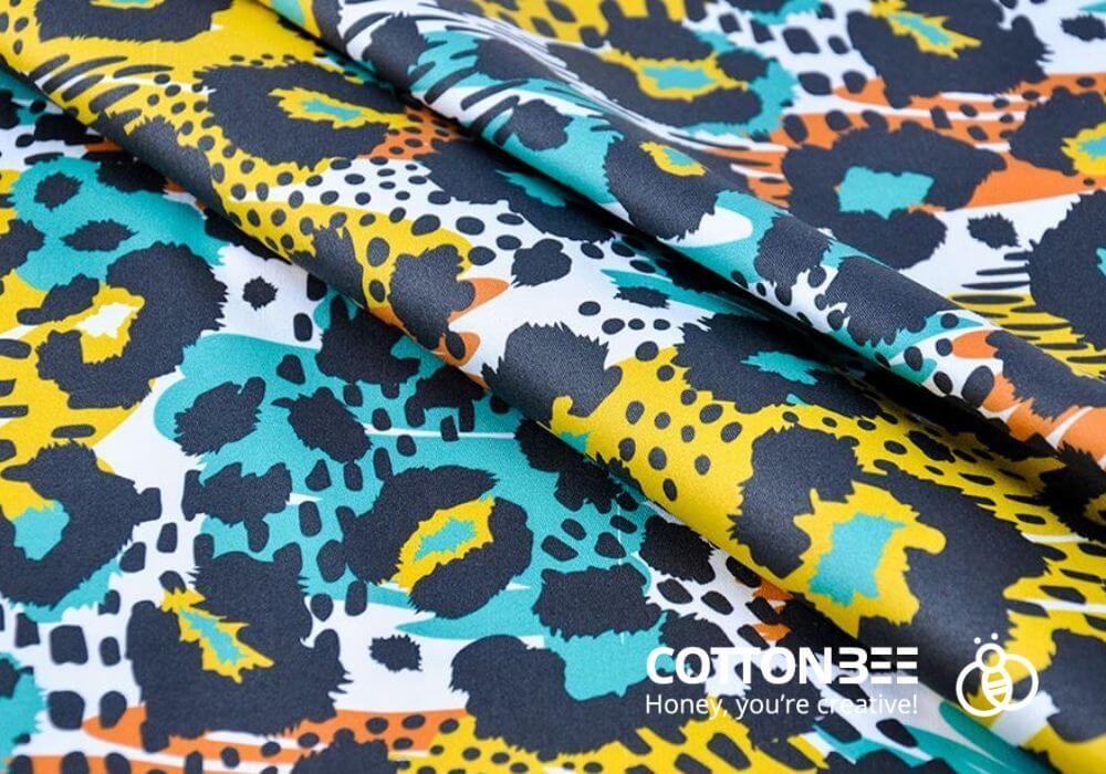 wzor afrykanski do drukowania na materialach - wzor w panterke