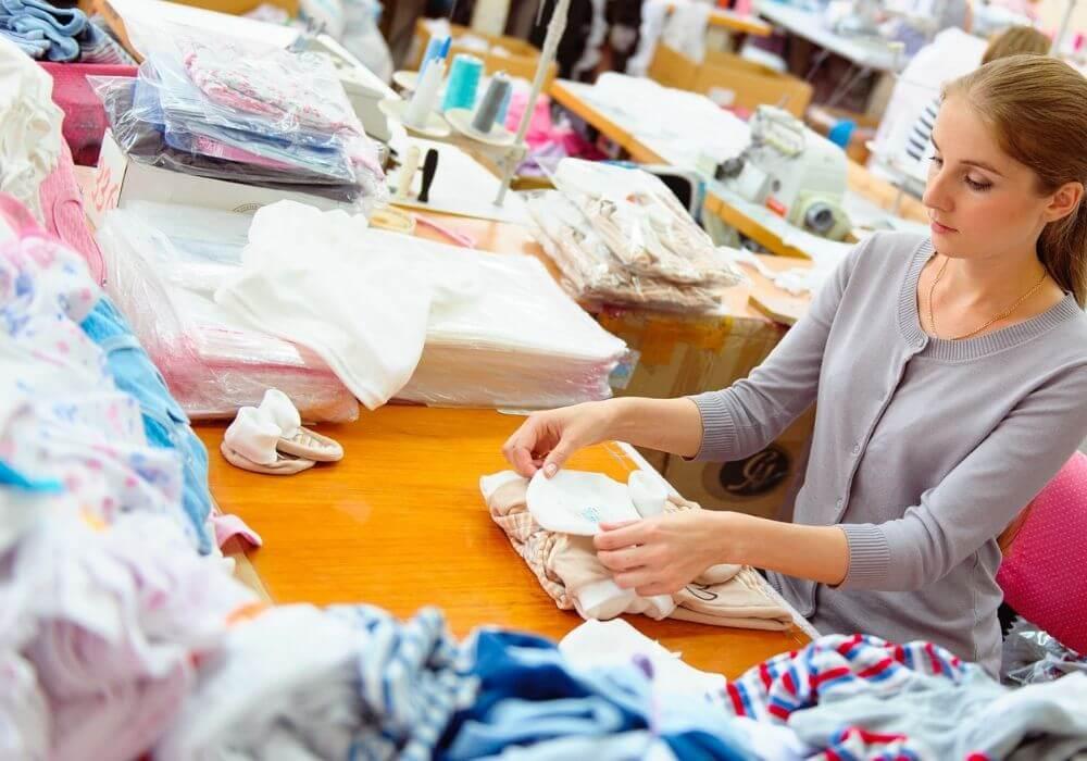 szycie ubran u krawcowej - drukowanie na materialach