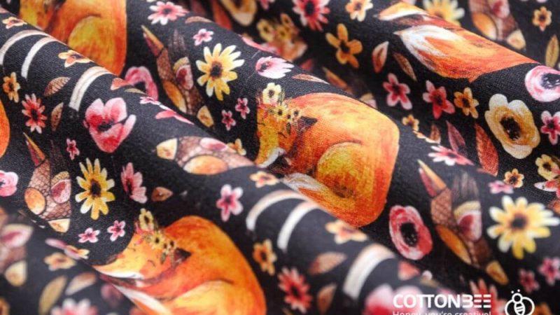Materiał do szycia w lisy – wzory dla miłośników leśnej fauny i flory