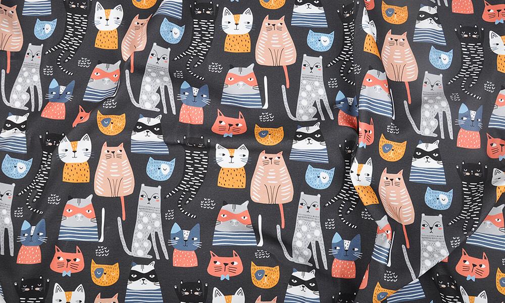 Kolekcja tkanin w koty — pomysłowe ożywienie twojego wizerunku
