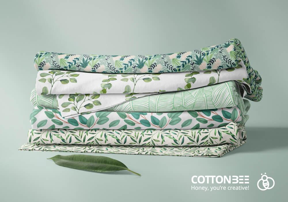 Bawełniane materiały wydrukowane w CottonBee
