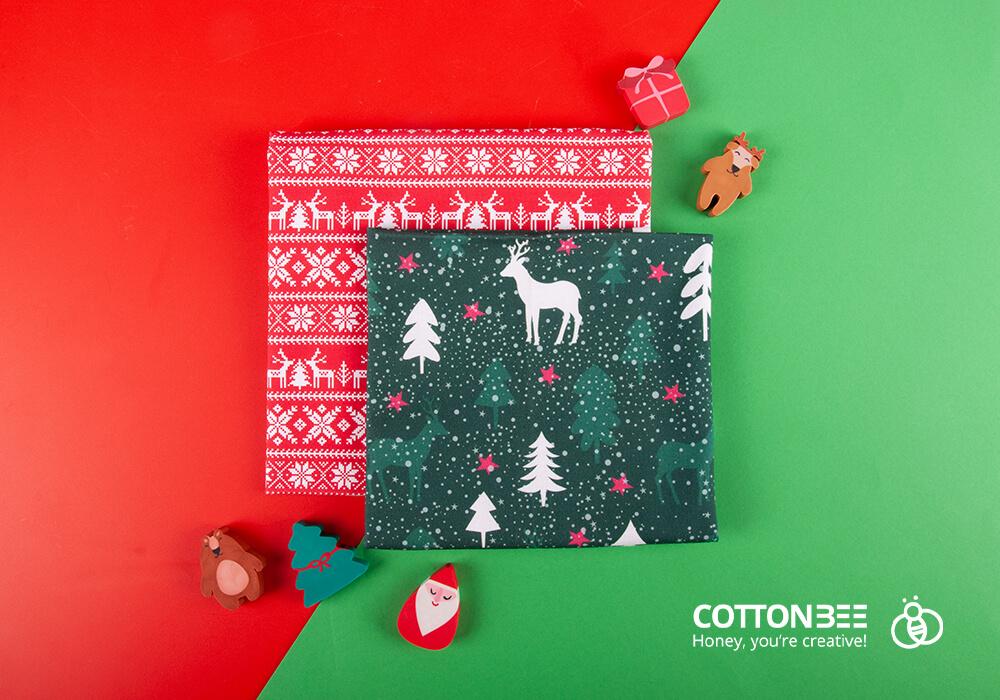 Drukuj materiały na dekoracje świąteczne