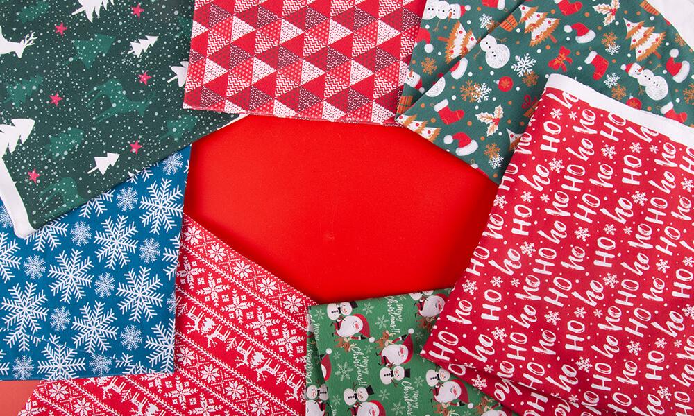 Materiały na dekoracje świąteczne