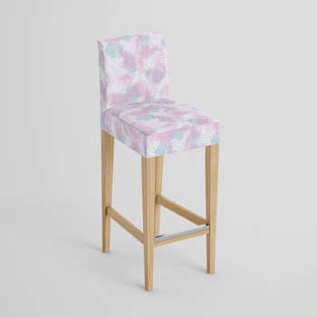 Panama printed fabric - upholstered chair