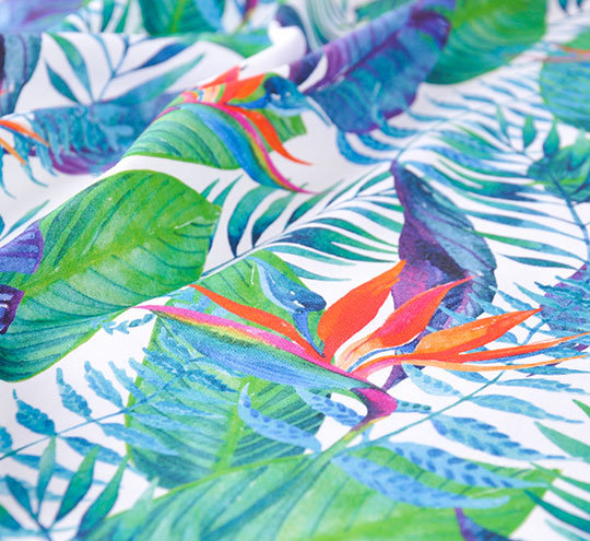 Jungle design fabric