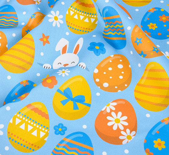 Easter egg2 design fabric
