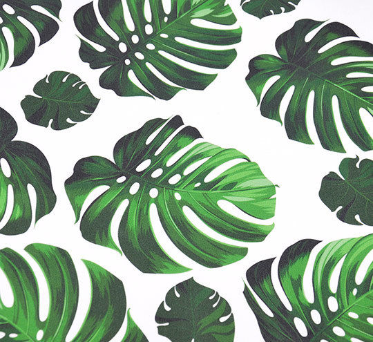 Monstera 2 design fabric