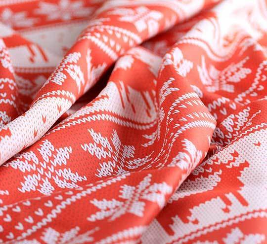 Christmas sweater design fabric l